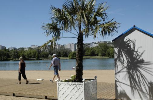Dijon Plage au lac Kir