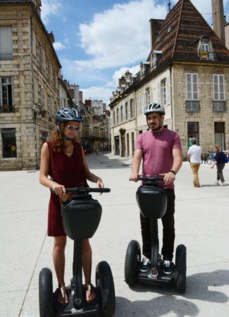 Visiter Dijon en Segway