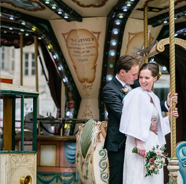 Carrousel mariage