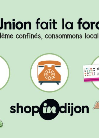 Dijon, en mode shopping…