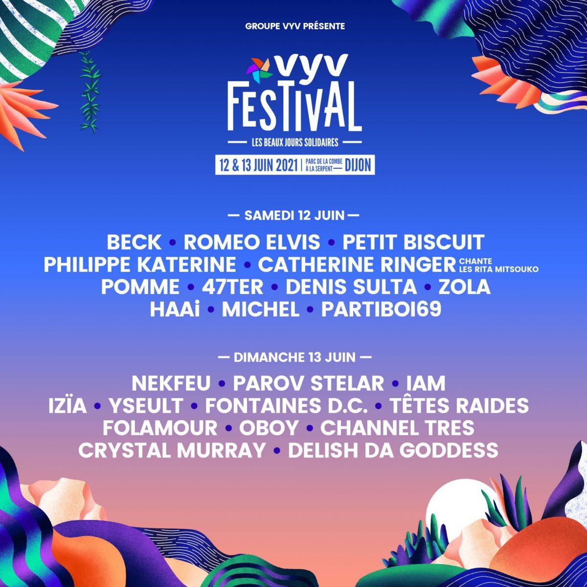 VYV Festival : le programme des 2 jours