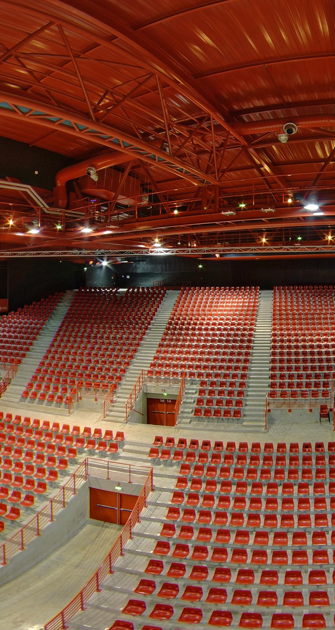 Zénith de Dijon – Grande salle