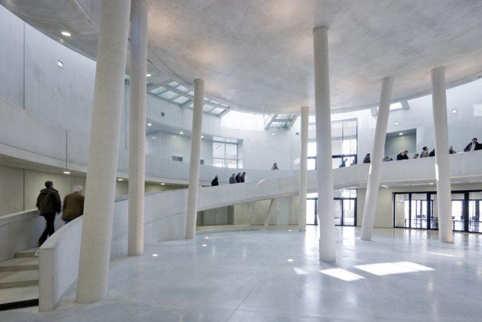 Atrium Centre d'interprétation. Alise-Sainte-Reine