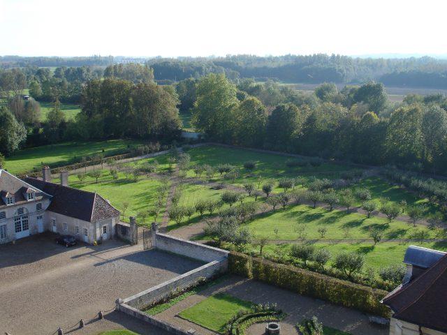 Jardins du château de Talmay