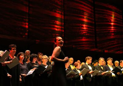 Concert du Nouvel An – American voices  Rebecca Tong, l'Orchestre Dijon Bourgogne et le Chœur de l'Opéra de Dijon
