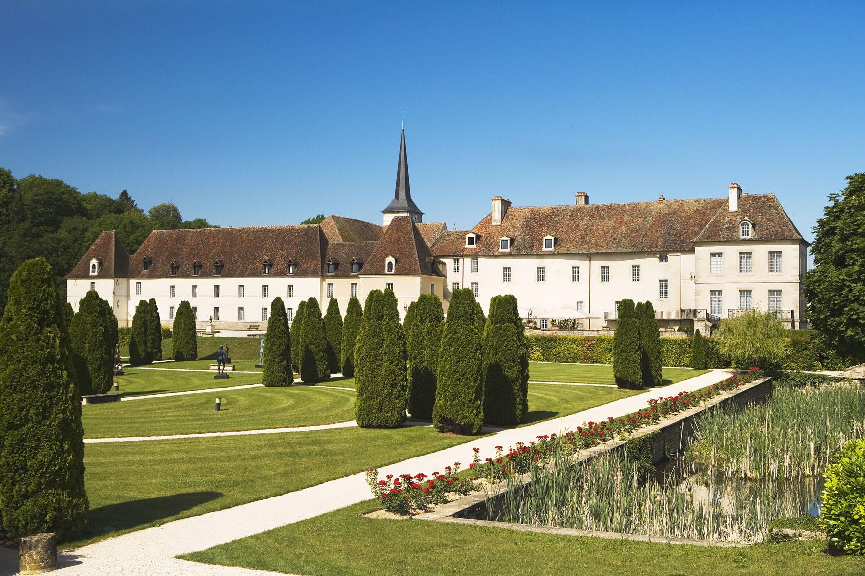 Château de Gilly – vue extérieure