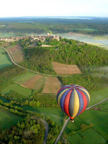 Vol autour de Vézelay