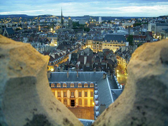 Vue de la Tour Philippe le Bon