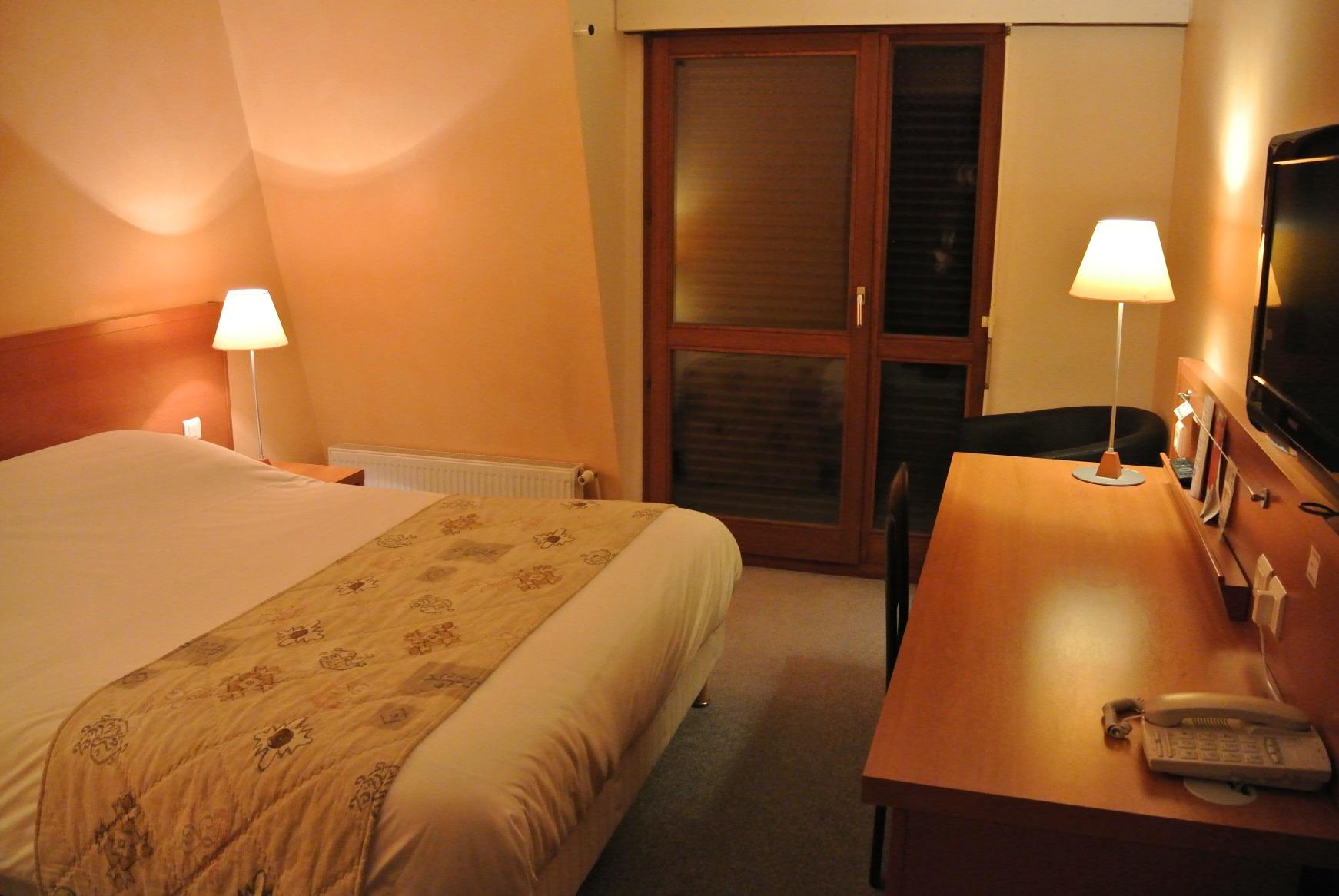 Chambre Hôtel Castel Burgond