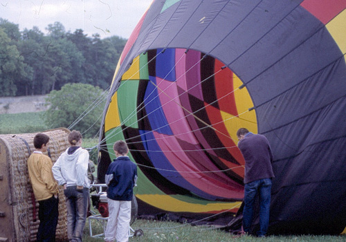 Survol de Dijon en montgolfière - 1