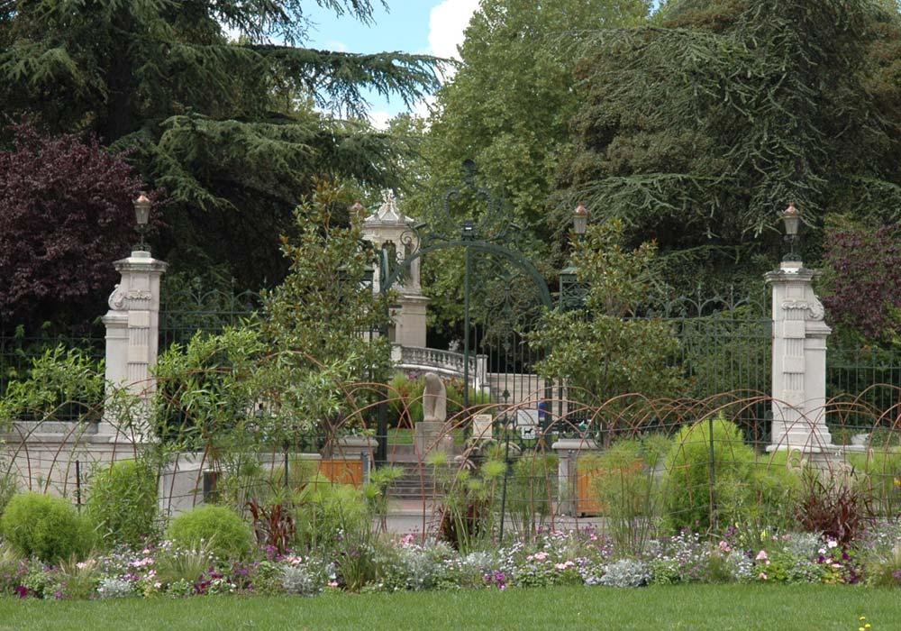 Entrée Jardin Darcy