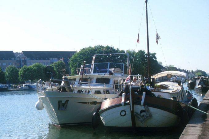 Port de plaisance à Dijon
