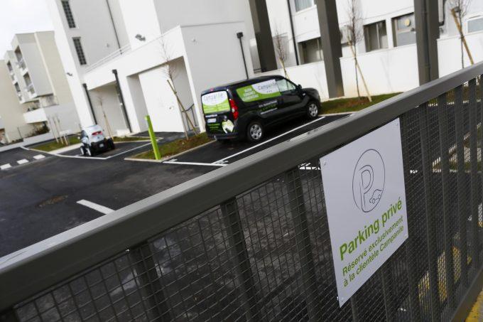 Parking privé fermé