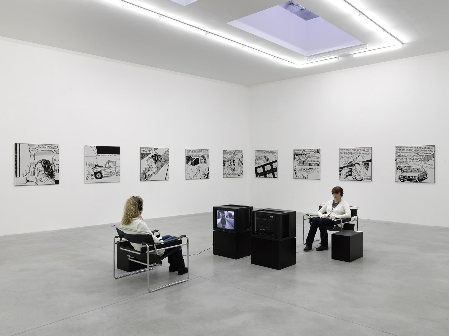 Vue de l'exposition «Le Frac s'invite au Consortium», 2012