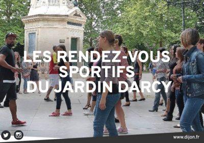 Les rendez-vous sportifs au Jardin Darcy