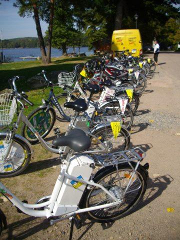 Parc de vélos électriques