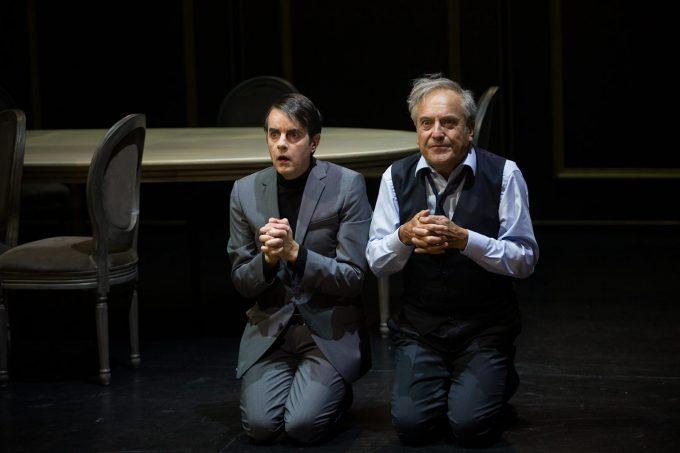 Tartuffe ou l'imposteur (avec de gauche à droite E. Vérité et M. Berman)