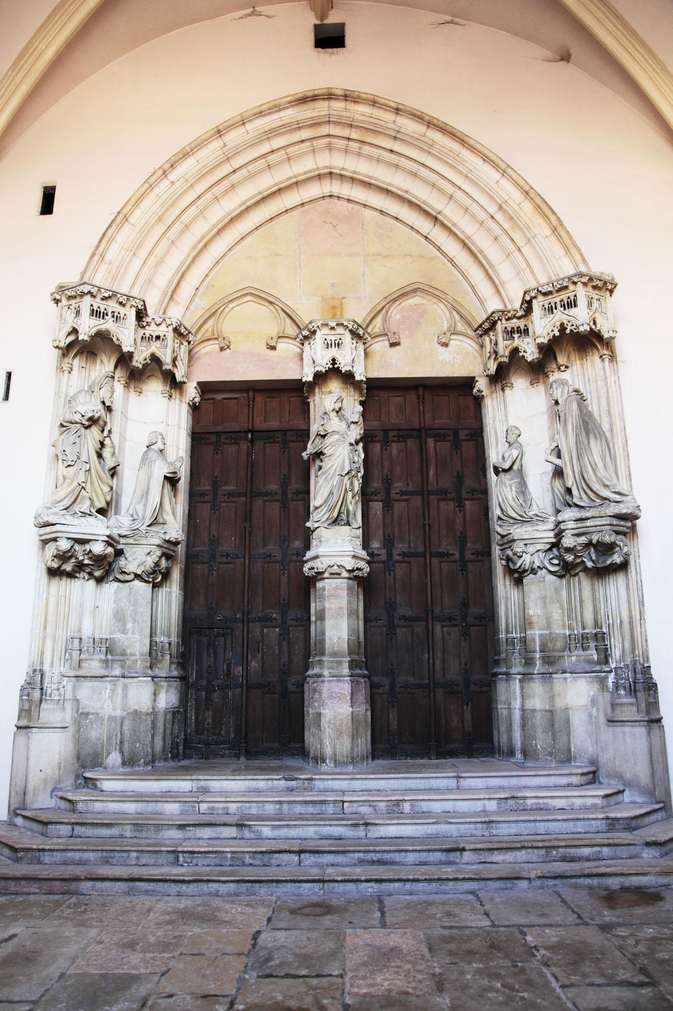 Portail de l'église (Chartreuse de Champmol)