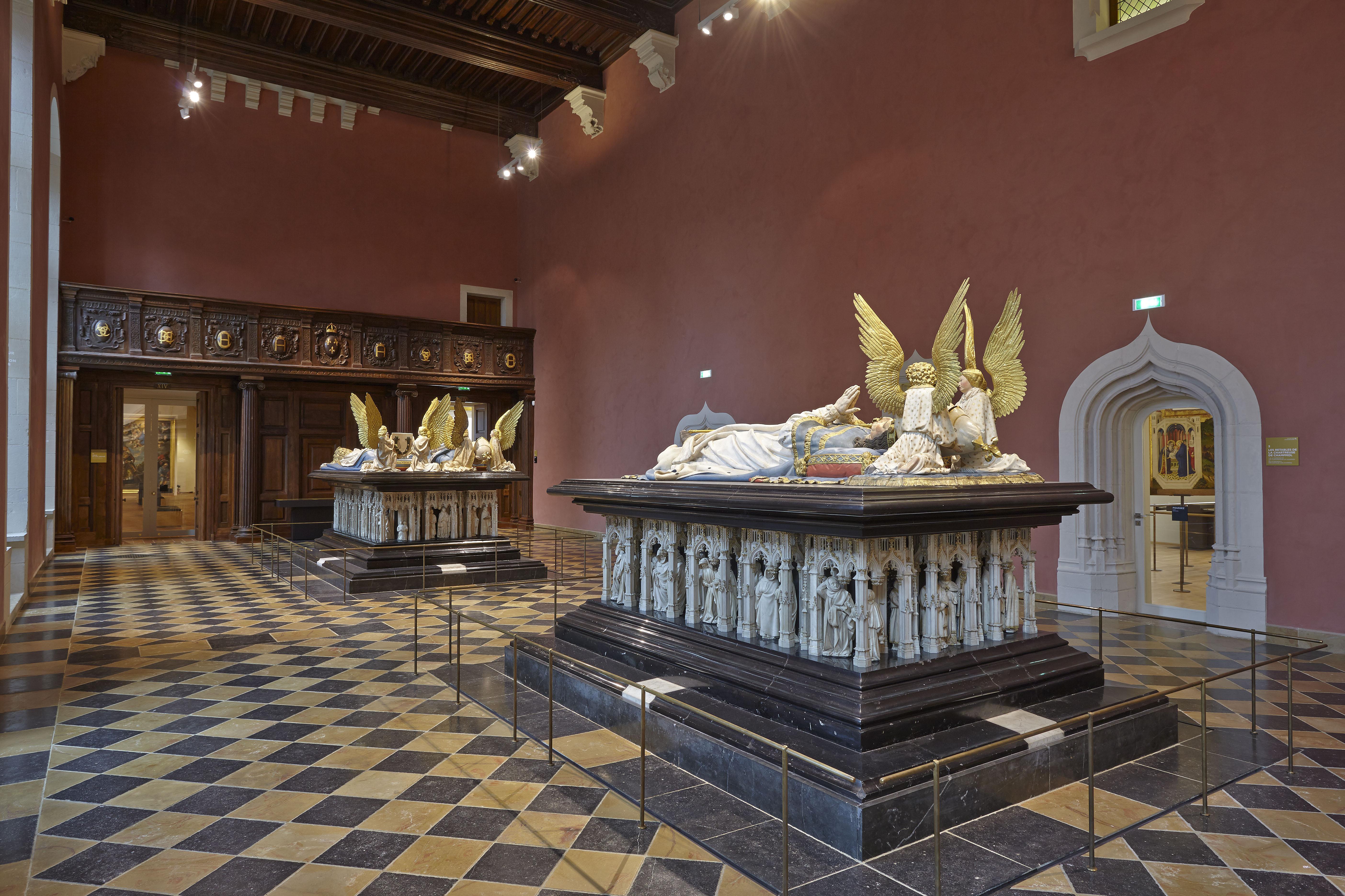 Salles des Tombeaux Musée des Beaux Arts