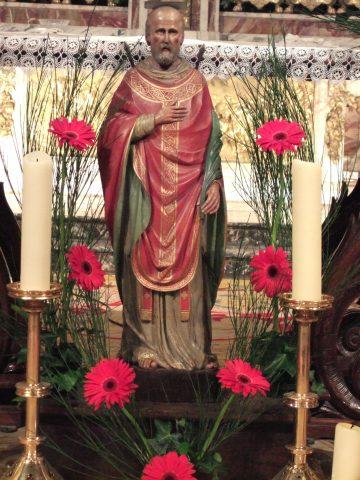 Statue de saint Bénigne, Dijon