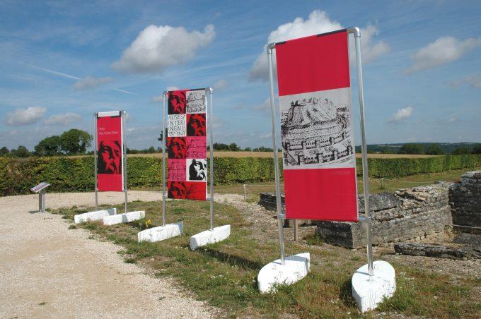 SITE D'ALESIA A ALISE-SAINTE-REINE – VESTIGES DE LA VILLE GALLO-ROMAINE