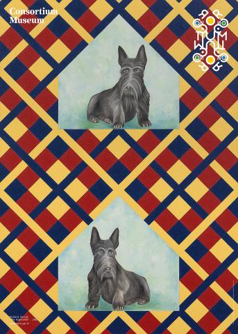 Affiche de l'exposition «Pattern, Crime & Decoration»