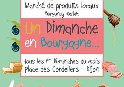 Un Dimanche en Bourgogne – Marché dominical – Promotion de produits locaux
