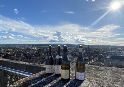Atelier dégustation des vins de Bourgogne au sommet de la Tour Philippe le Bon