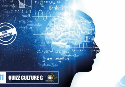 Quizz Culture G