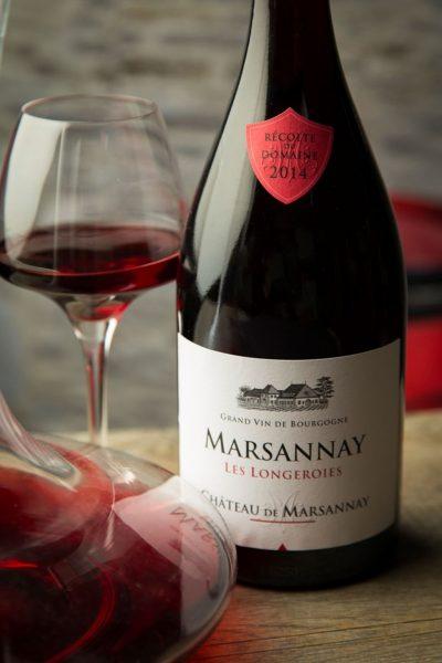 Déguster du vin au Château de Marsannay