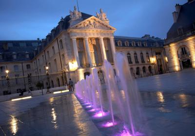 Dijon by night