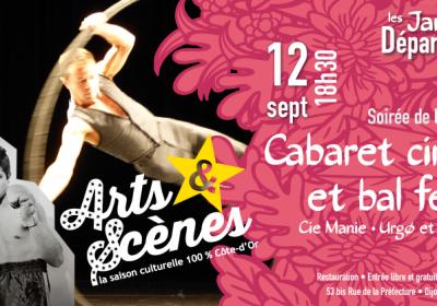 Cabaret cirque et bal festif – Arts & Scènes