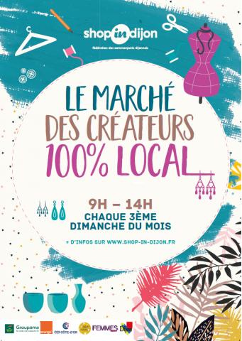 Marché de créateurs 100% local
