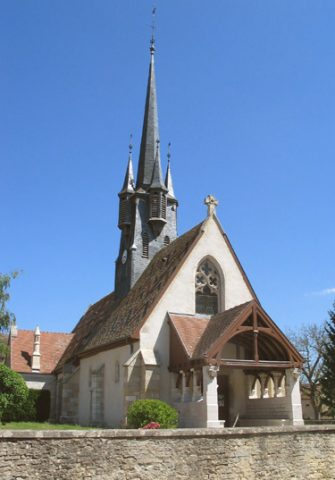 Photo clocher Ruffey lès Beaune