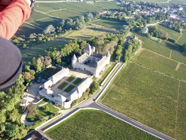 Remigny – Air Escargot – 2017 – Le Chateau de Rully et le vignoble