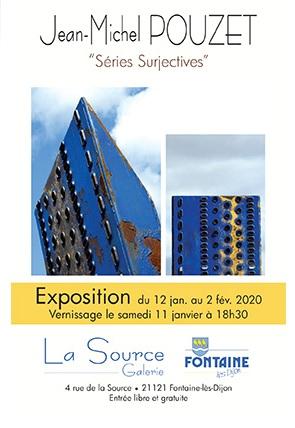 Exposition  «Séries Surjectives» – Jean-Michel POUZET - 0