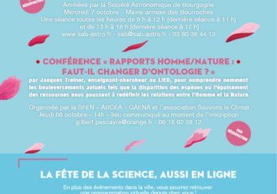 Fête de la Science en Bourgogne Franche-Comté