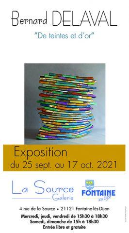Exposition  «De teintes et d'or» – Bernard DELAVAL - 0
