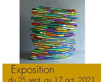 Exposition  «De teintes et d'or» – Bernard DELAVAL