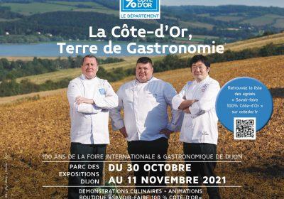 Foire Internationale et Gastronomique de Dijon – Stand «De la terre à l'assiette»