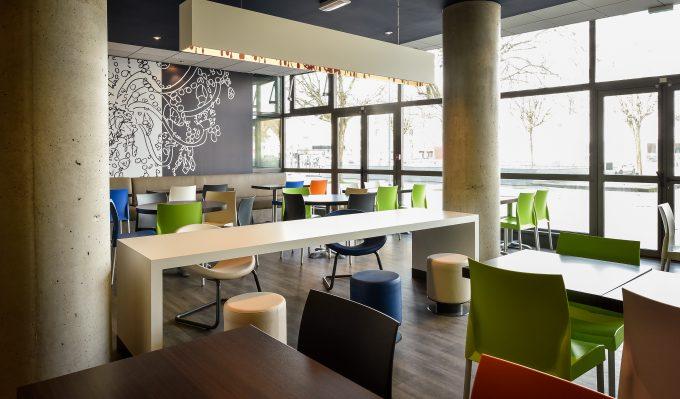 Salle petit-déjeuner Ibis Budget Dijon Clemenceau