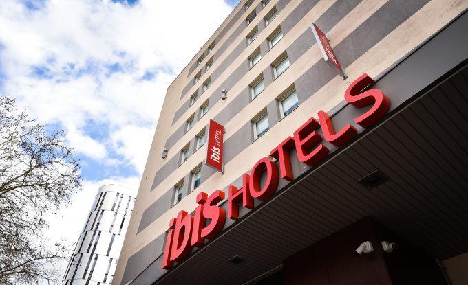 Façade Ibis Dijon Centre Clemenceau