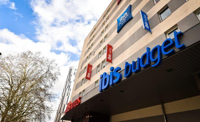 Façade Ibis Budget Dijon Clemenceau