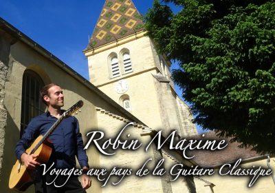 Robin Maxime – Concert de guitare classique et espagnole - 0