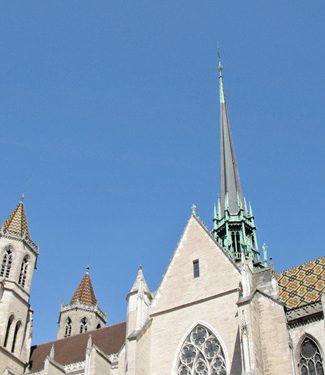 Journée du clocher à Dijon Cathédrale Saint Benigne