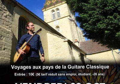 Robin Maxime – Concert de guitare classique et espagnole - 1